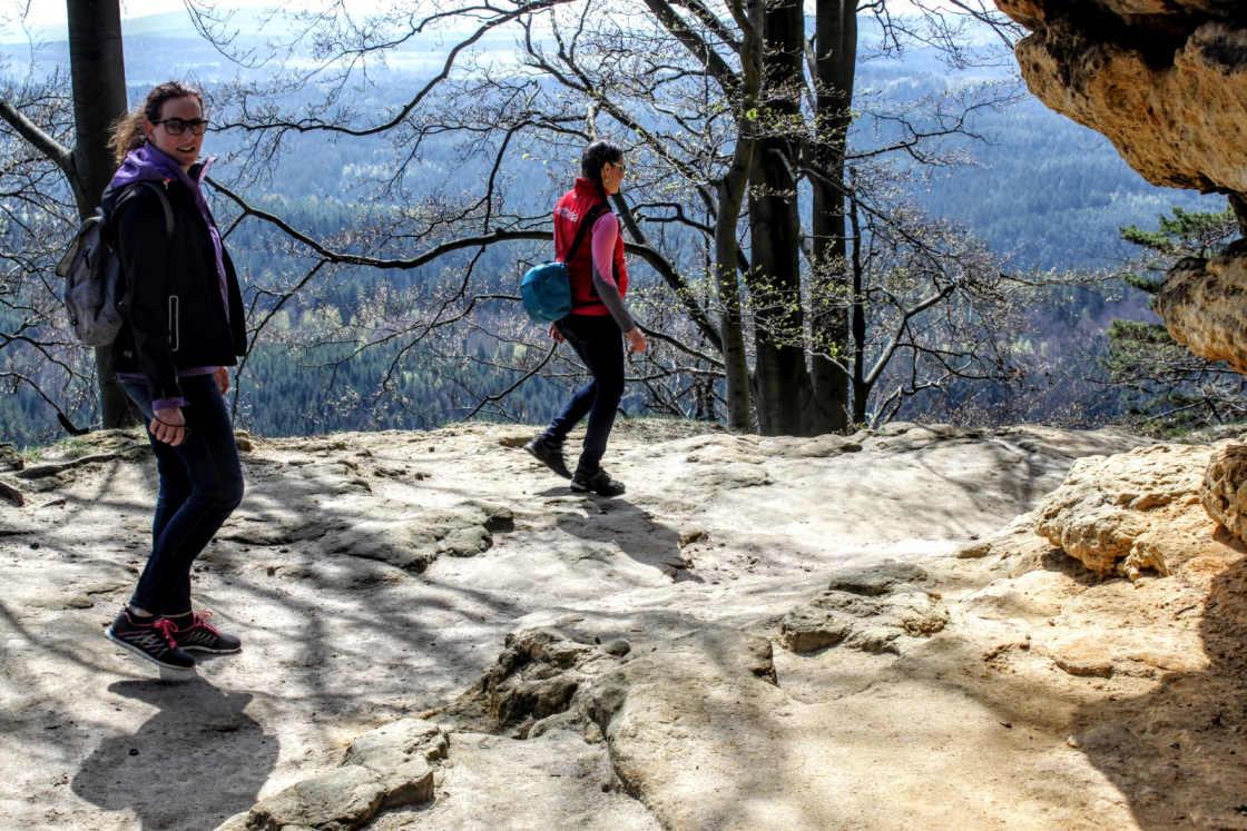Het bosrijke Nationaal Park Boheems Zwitserland