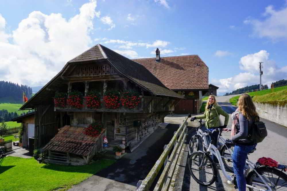 Traditionele boerderij in het Emmental