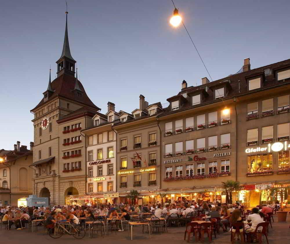 Aan terrasjes geen gebrek in Bern