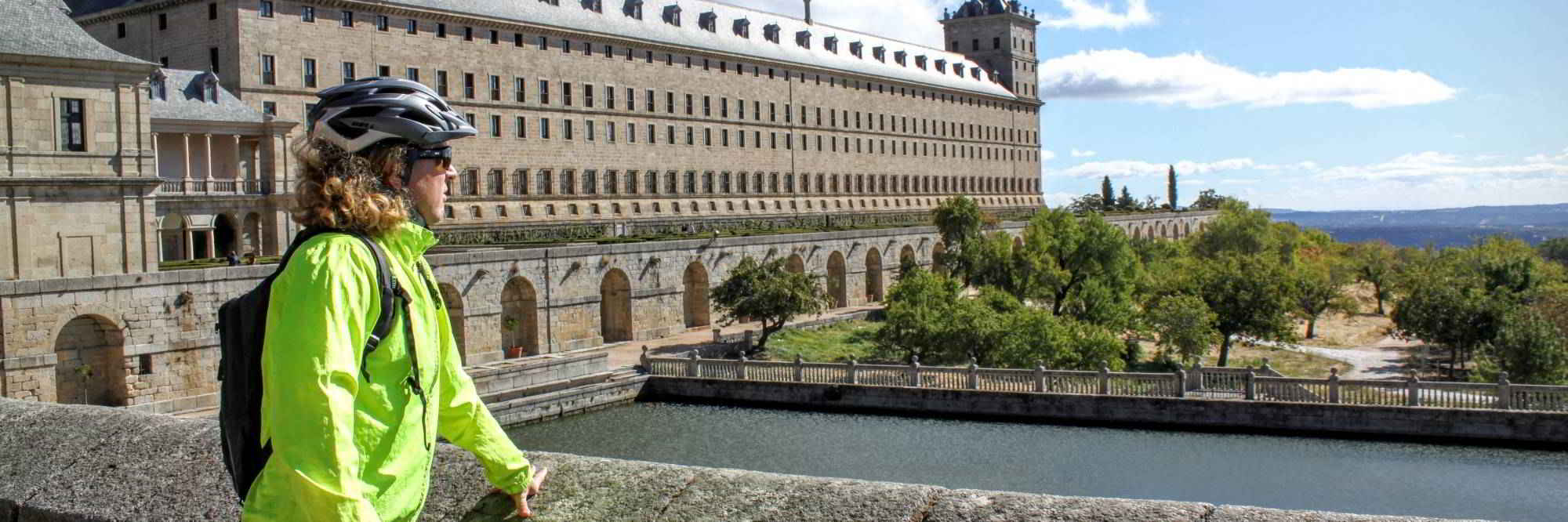 header foto El Escorial en Sierra de Guadarrama