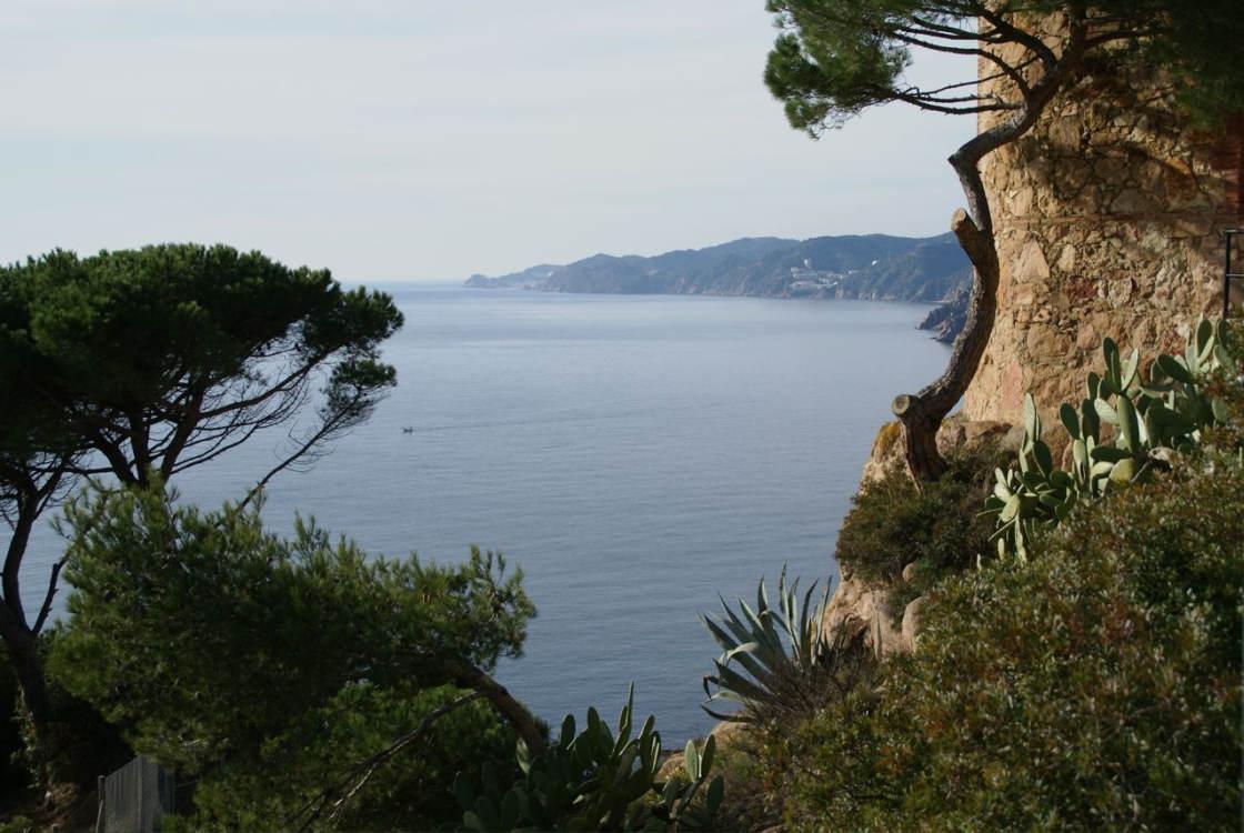 Het meer woeste gedeelte van de Costa Brava, bij Sant Elm