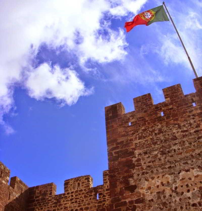 Het voormalige Moorse kasteel in Silves