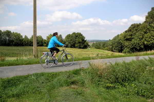fietsster in Picardisch Wallonië