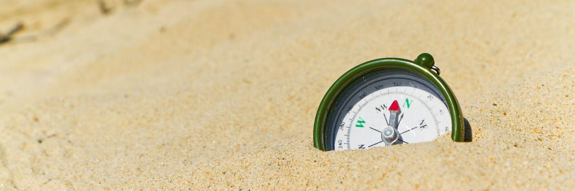 header foto kompas bij pagina over routeplanners