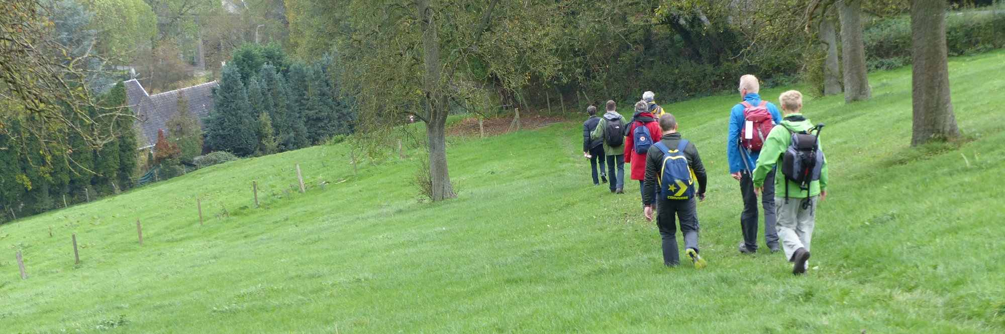 header foto wandeling rondom zuid-limburg