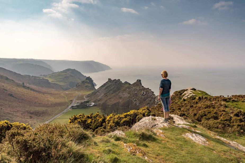 Schitterende uitzichten vanaf de kliffen in Engeland