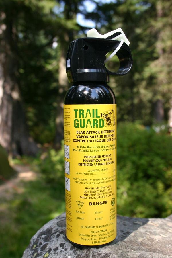 Bear detterent spray