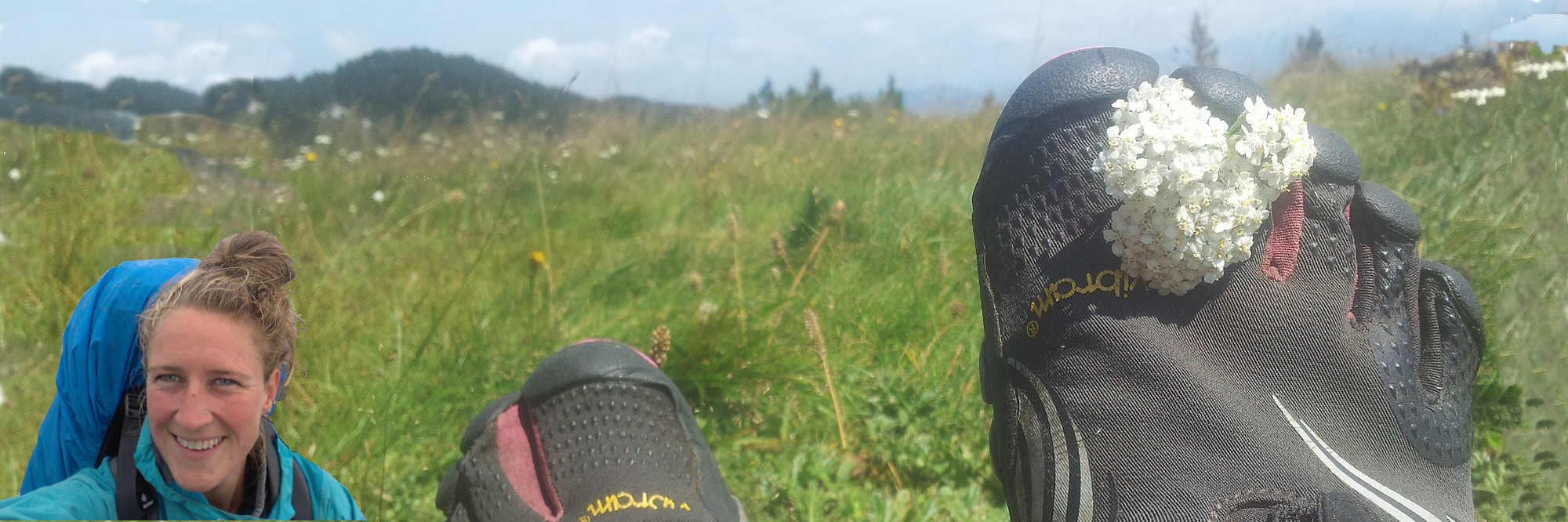 Op five-finger-schoenen door de Balkan