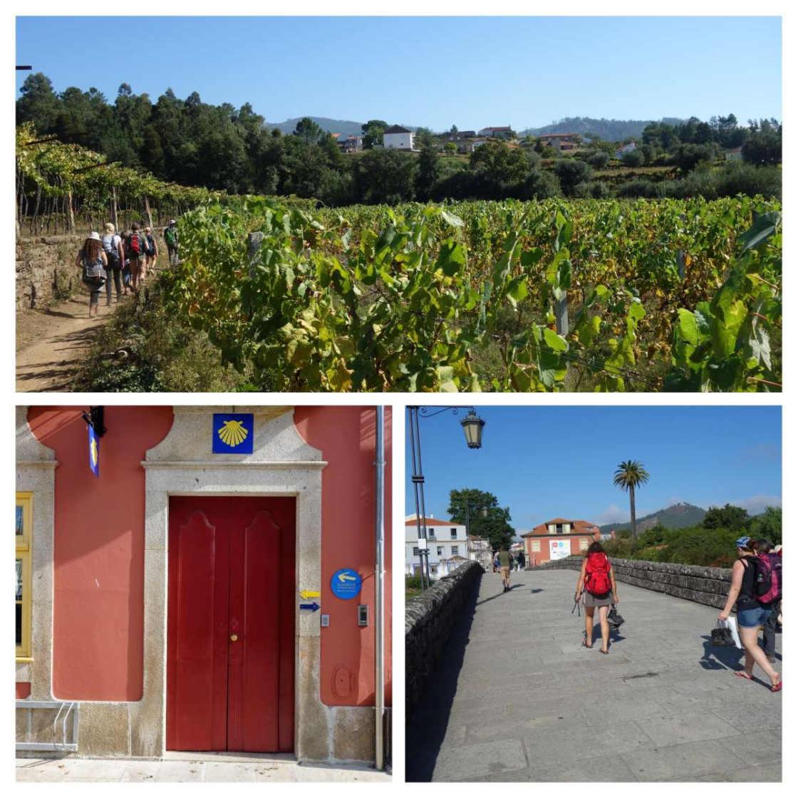 College van beelden over wandelen in Noord-Portugal